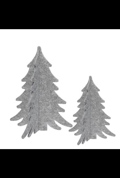 Vilten Decoratie Kerstbomen
