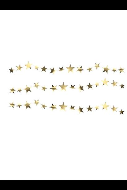 Garland with golden stars