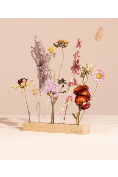 Houder met bloemen - Indian Summer