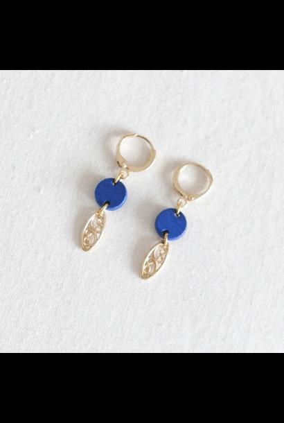 Oorbellen Blauw - Tiny Sweets 05