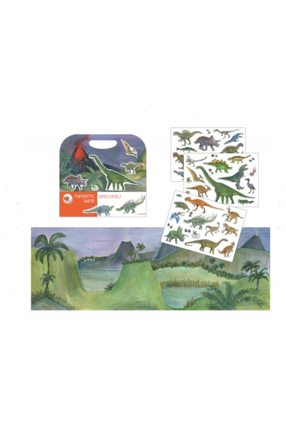 Magneetspel Dinosaurus
