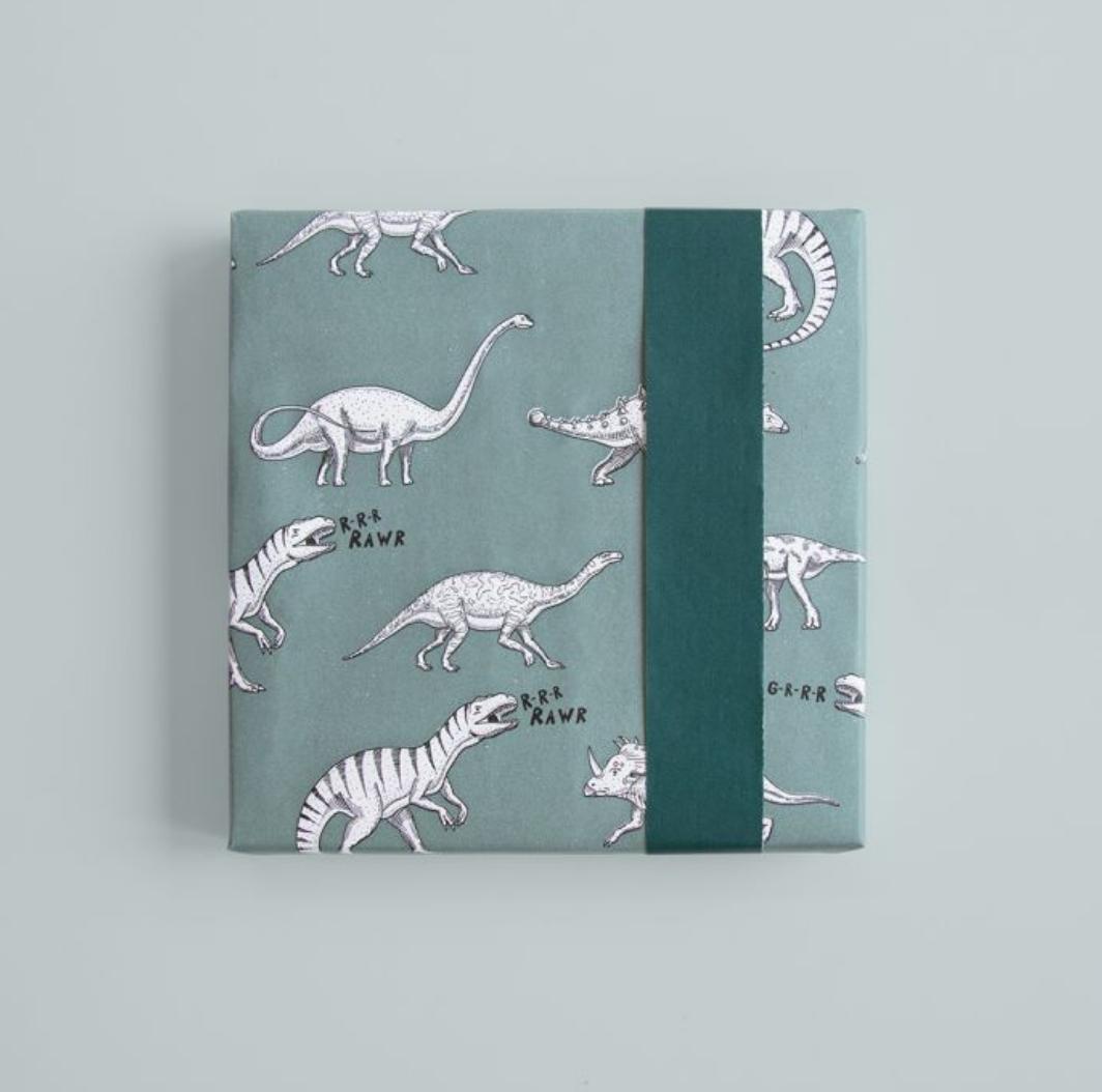 Dubbelzijdig Inpakpapier Dino-2