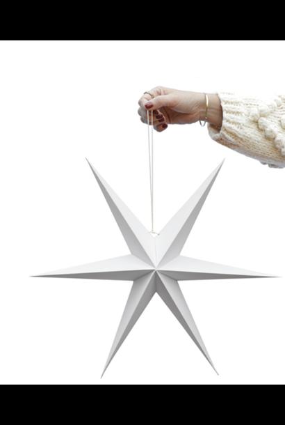 Set White Decoration Stars