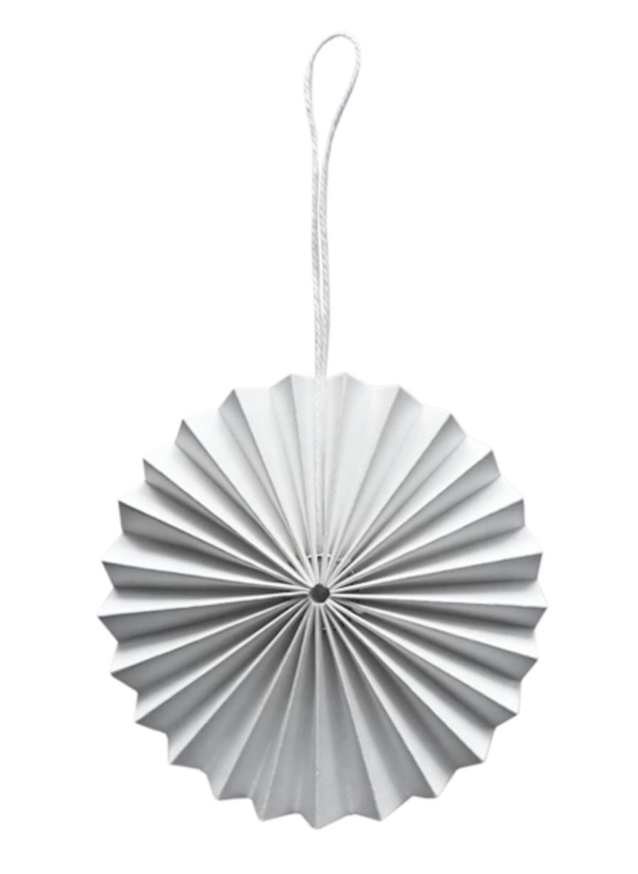 Papieren Ornament - Wit - Delight Department-1