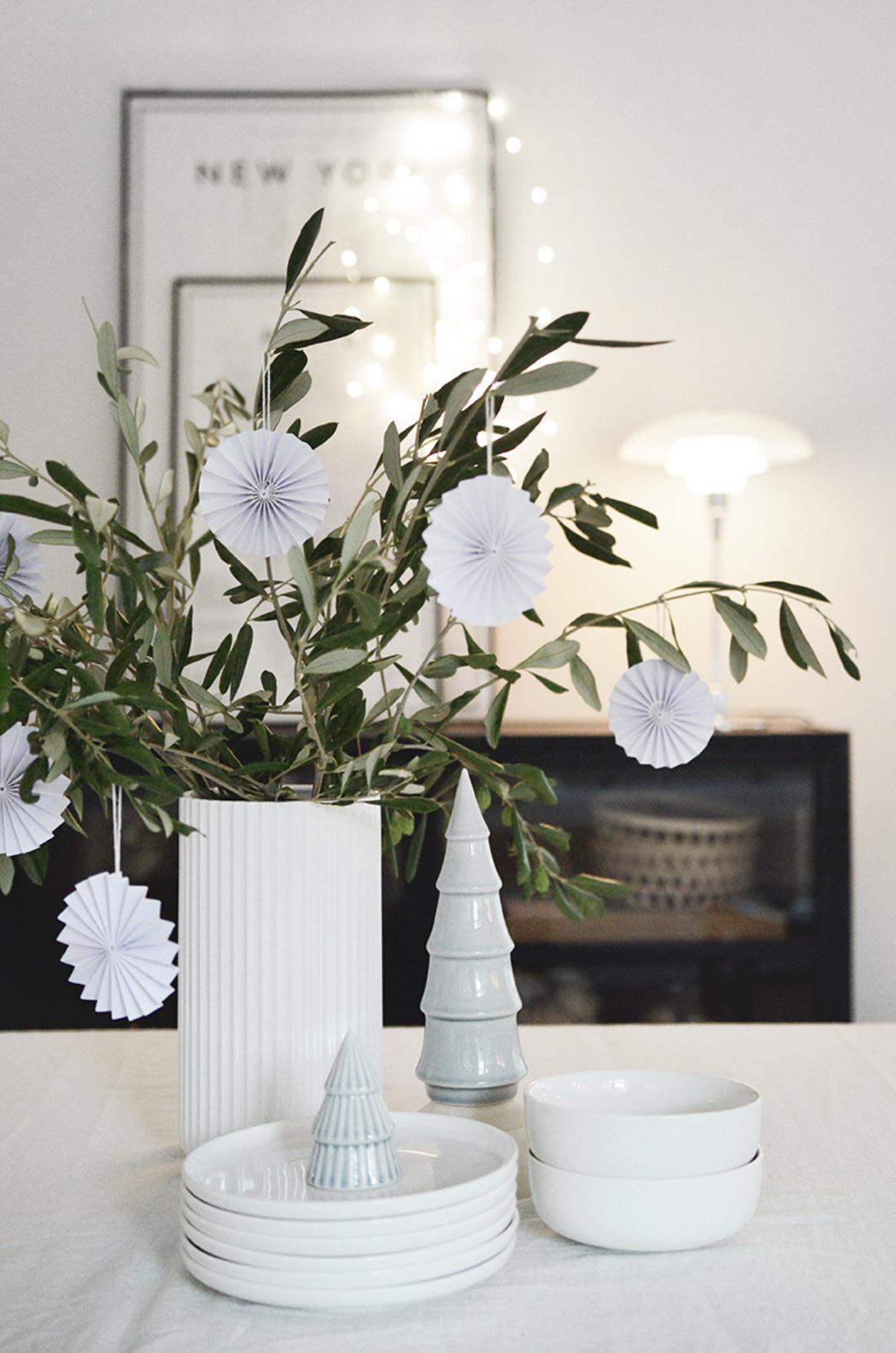 Papieren Ornament - Wit - Delight Department-2