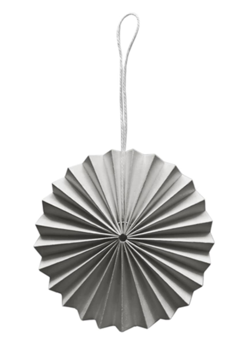 Papieren Ornament Lichtgrijs - Delight Department-1