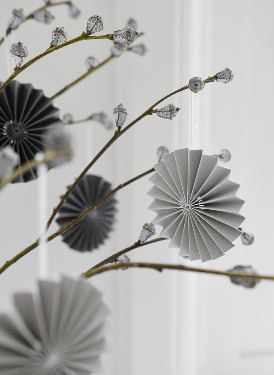 Papieren Ornament Lichtgrijs - Delight Department-3