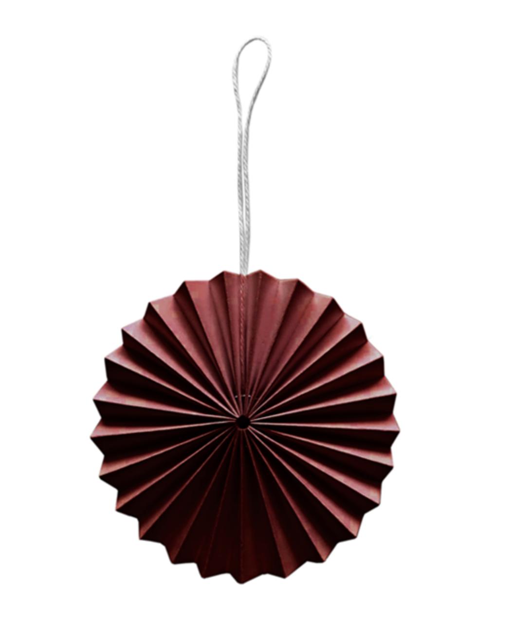 Papieren Ornament - Bordeaux-1