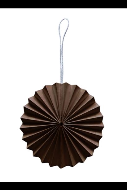 Paper Ornament - Brown