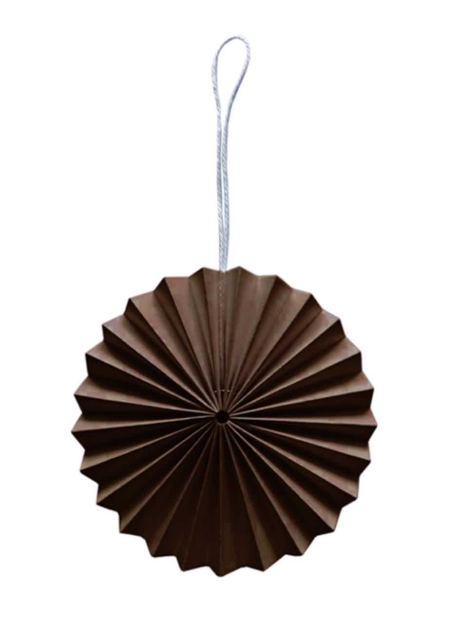 Papieren Ornament - Bruin - Delight Department-1