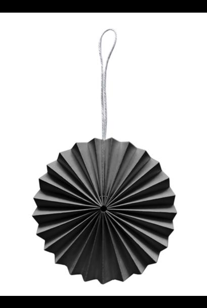 Papieren Ornament - Donkergrijs