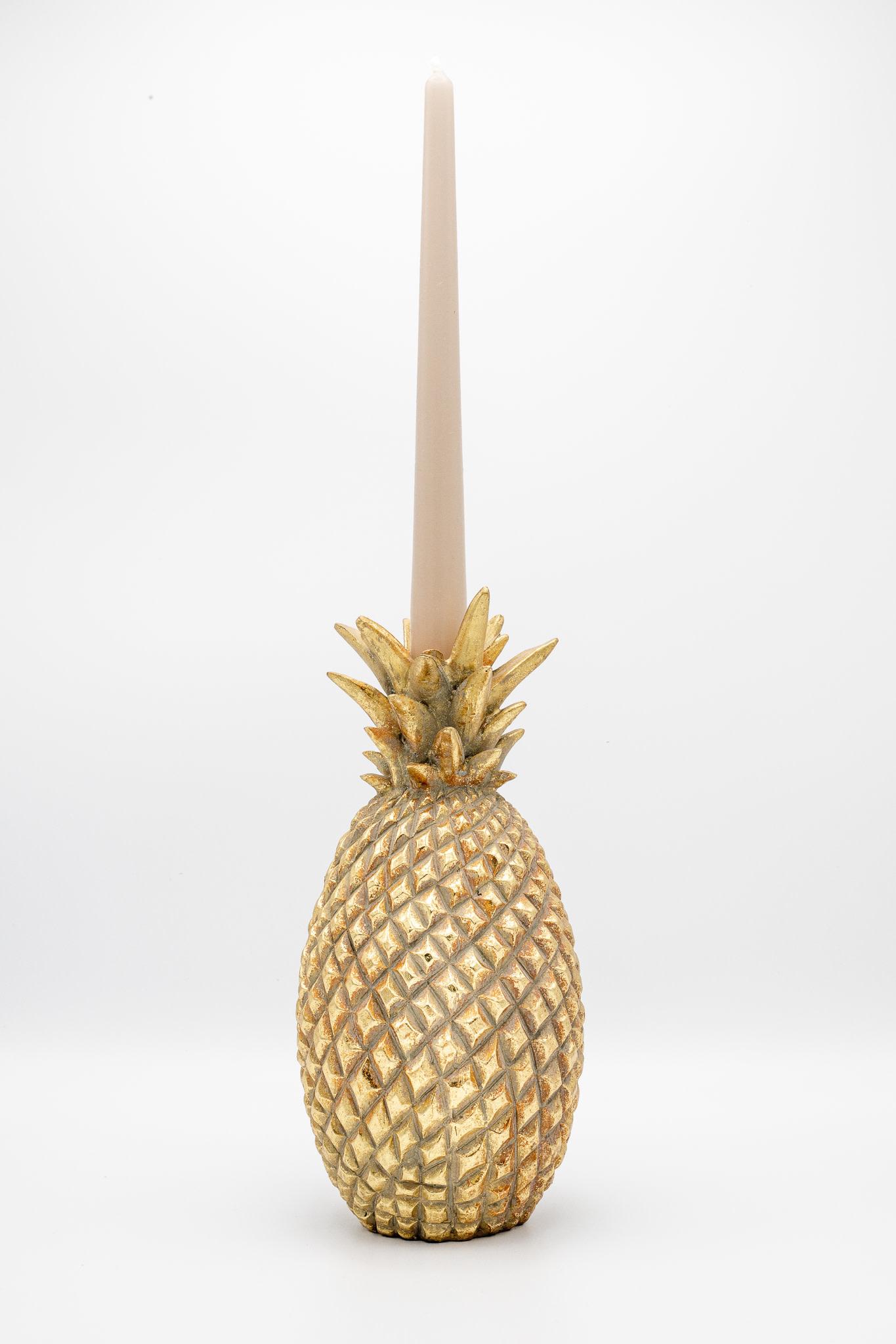 Kandelaar Ananas Goud - Large-2