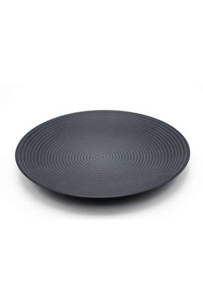 Plat Bord Cirkel Zwart