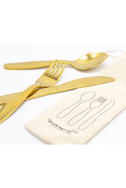 Children's Cutlery Gold