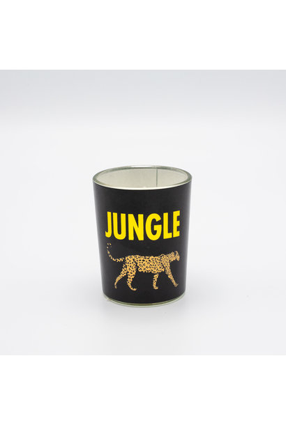 Kaarsje Print - Luipaard Jungle