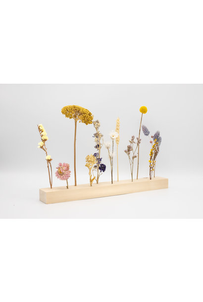 Holder With Flowers - Medium