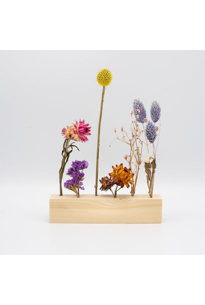 Holder With Flowers - Small