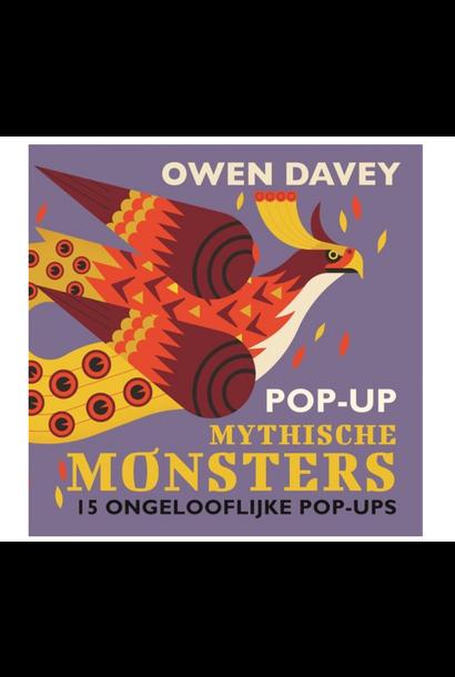 Boek Pop-Up Monsters