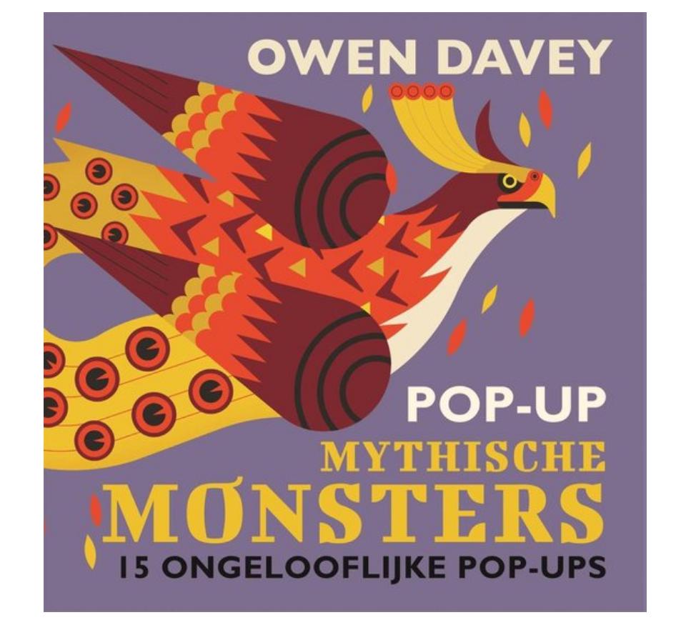 Boek Pop-Up Monsters-1