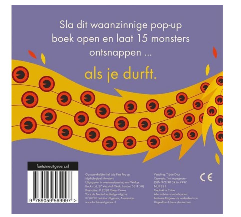 Boek Pop-Up Monsters-2