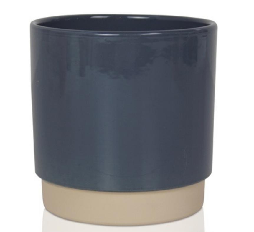 Bloempot Blauw - Small-1