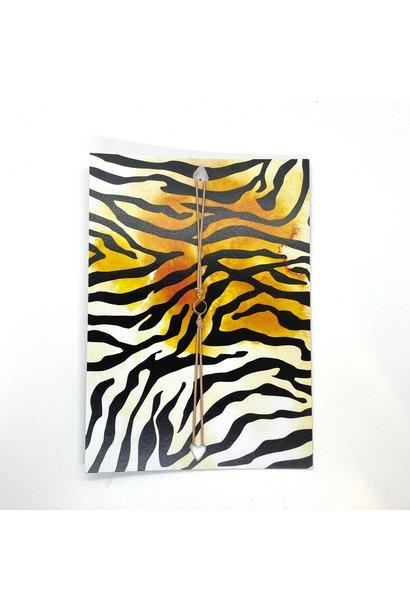Tiger Wenskaart Met Armband