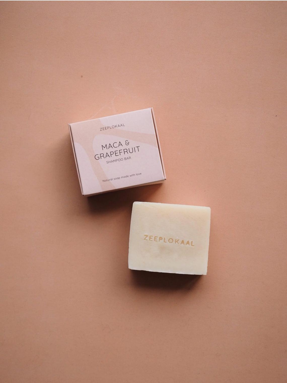 Shampoo Bar - Maca & Pompelmoes - Zeeplokaal-2