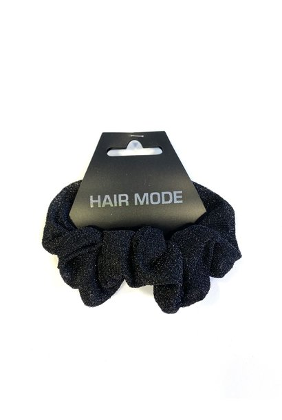Scrunchie Glitter Black