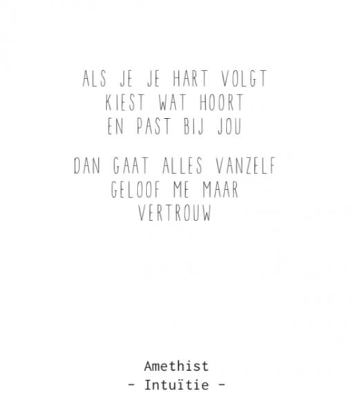 Amethist armbandjes met gedichtje – thema intuïtie - Gewoon Jip-2