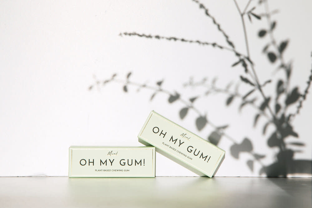 Oh My Gum - Plant-Based Chewing Gum - Mint Flavour-1