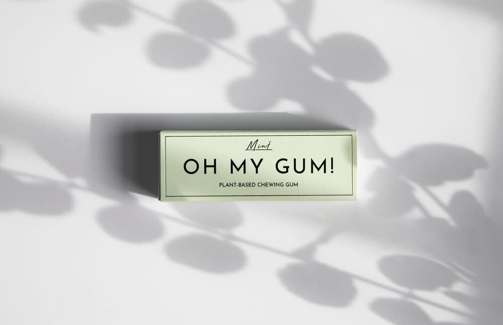Oh My Gum - Plant-Based Chewing Gum - Mint Flavour-3