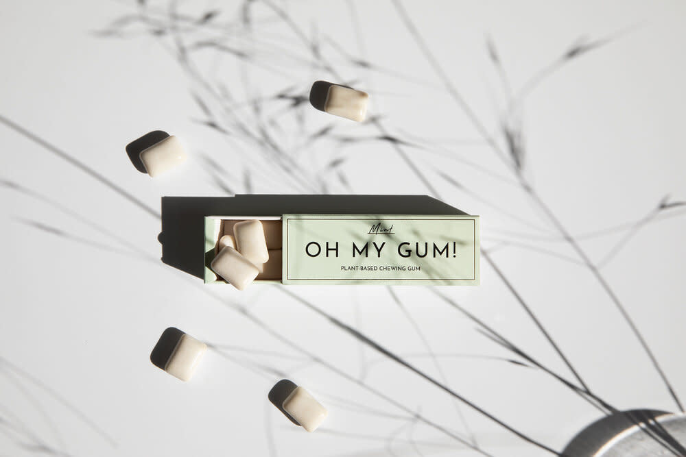 Oh My Gum - Plant-Based Chewing Gum - Mint Flavour-2