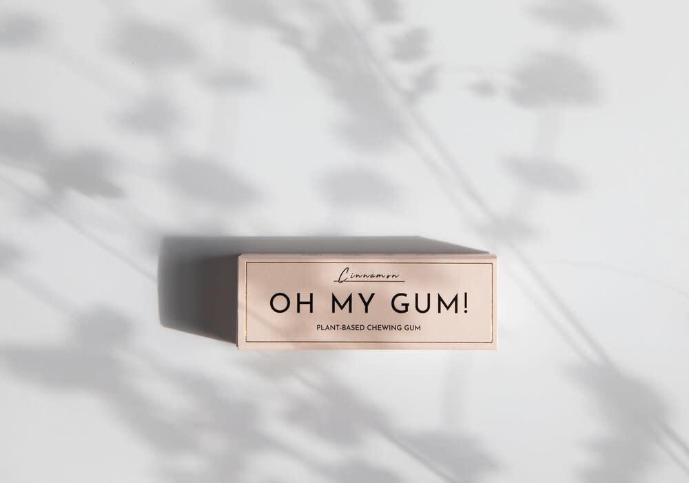 Plantaardige Kauwgom Kaneel - Oh My Gum!-3