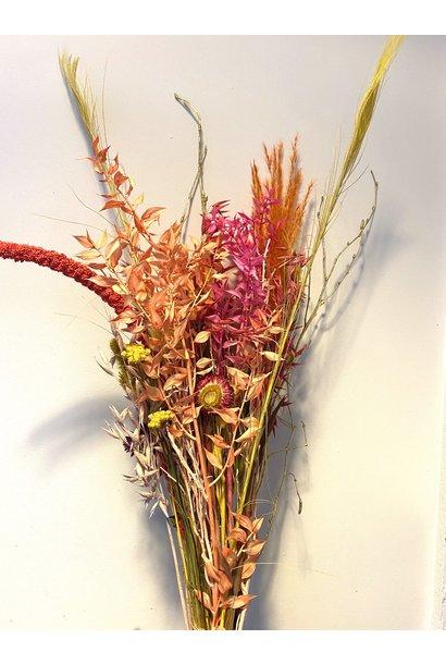 Droogboeket Fluo Flower