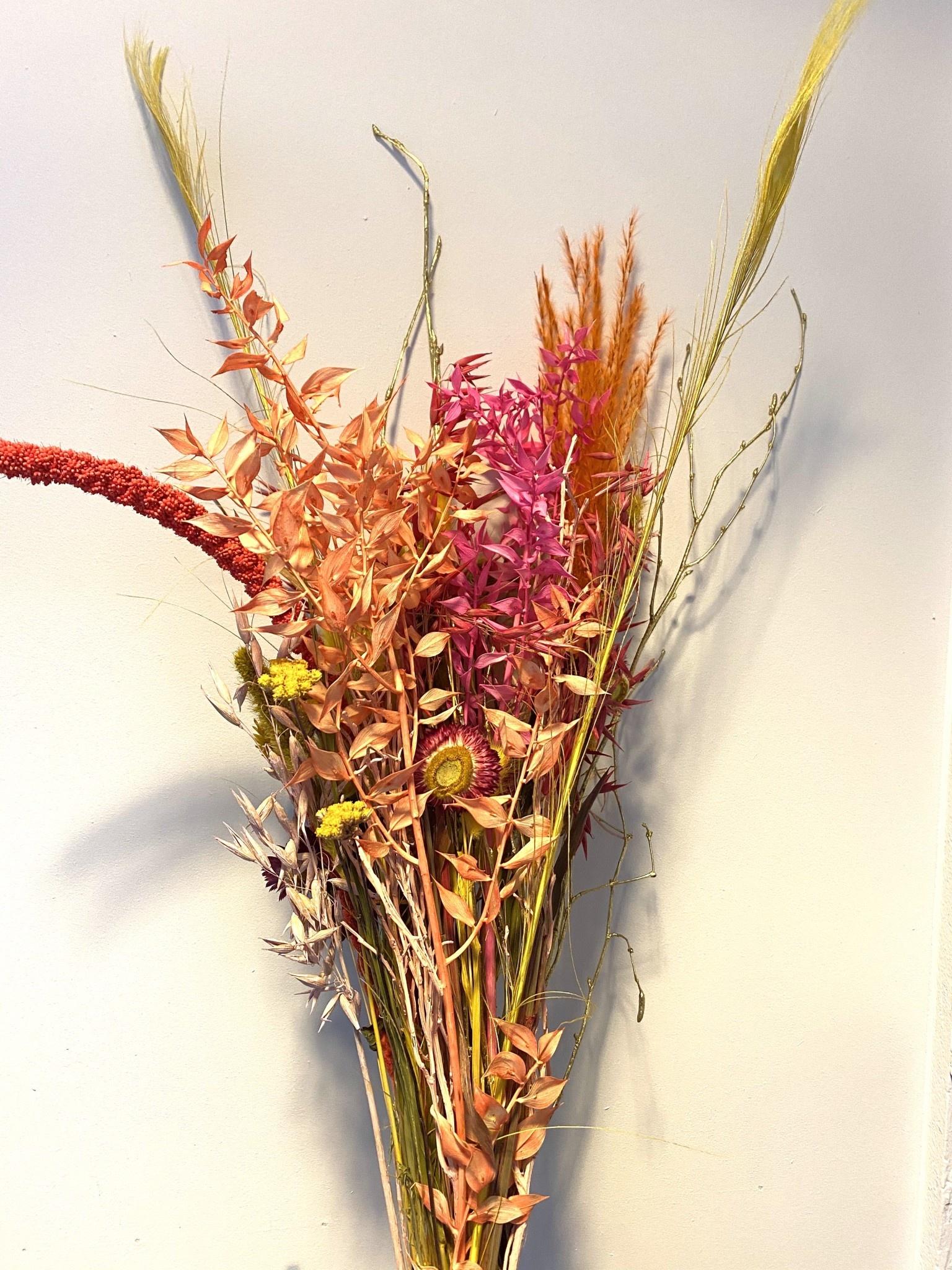 Droogboeket Fluo Flower-1