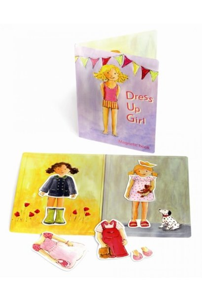 Dress Up Girl - Magnetic Book