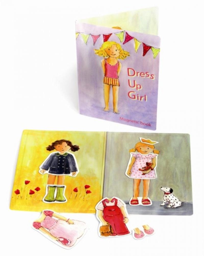 Dress Up Girl - Magnetic Book - Atelier Olala-1