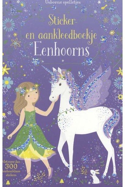 Sticker and dress-up book Unicorns