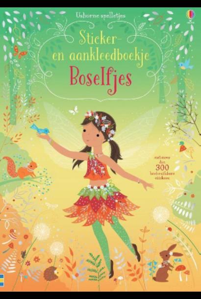 Sticker and Dress Up Book Fairies