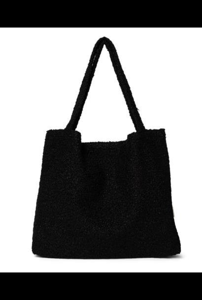 Mom-Bag Bouclé Black