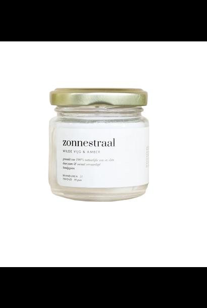 Geurkaars Zonnestraal - Wilde vijg & Amber