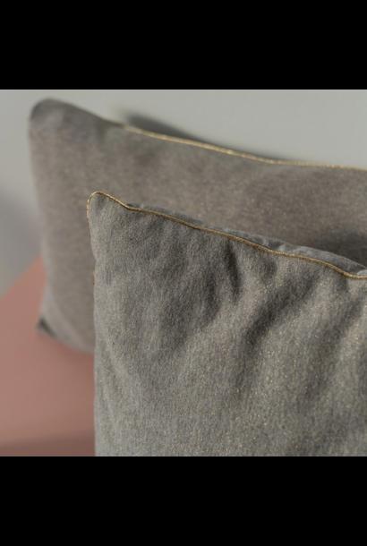 Pillow Grey Gold
