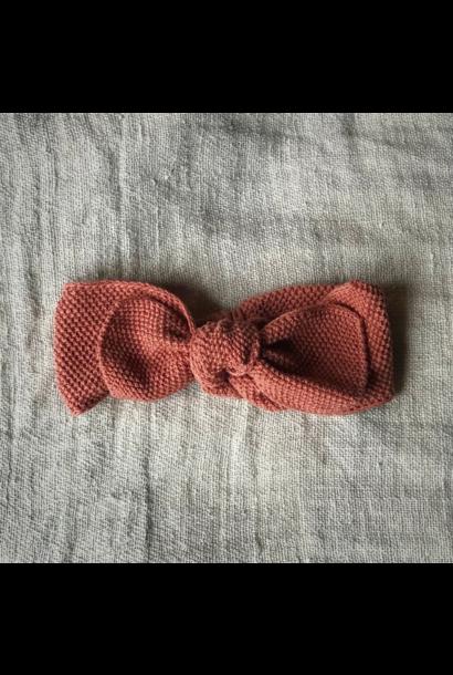 Knitted Headband Terracotta