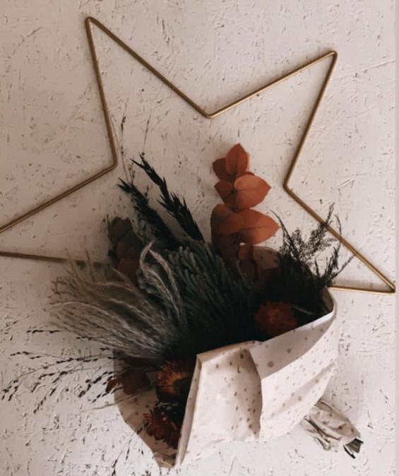 DIY Floral Star Medium-1