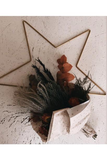 DIY Floral Star Large