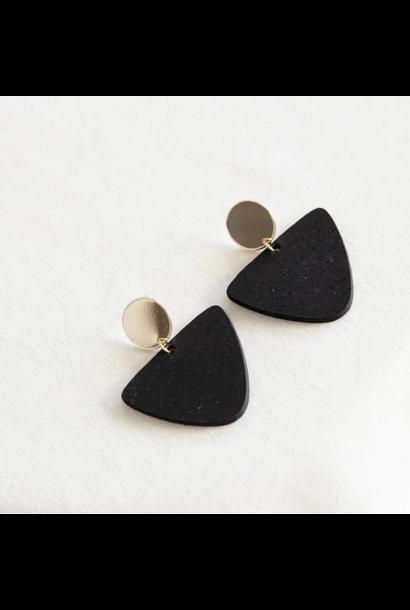 Earrings Black - Golden Glow 16