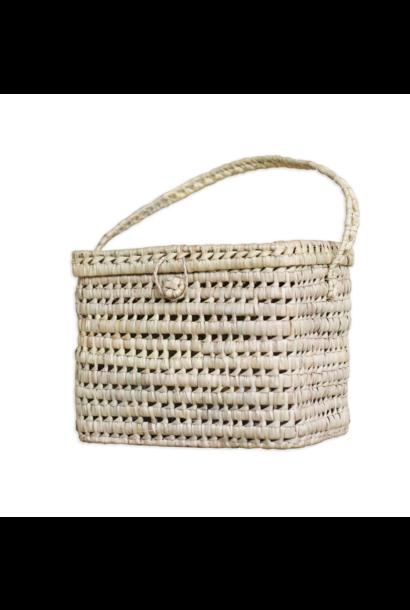 Big Basket Of Palm Leaf