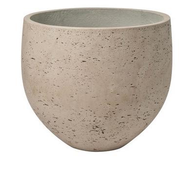Bloempot Bol Grijs - Pottery Pots-1