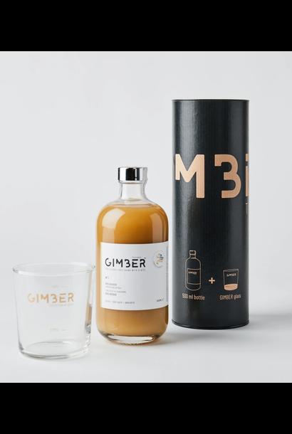Gimber 500ml - Koker met glas