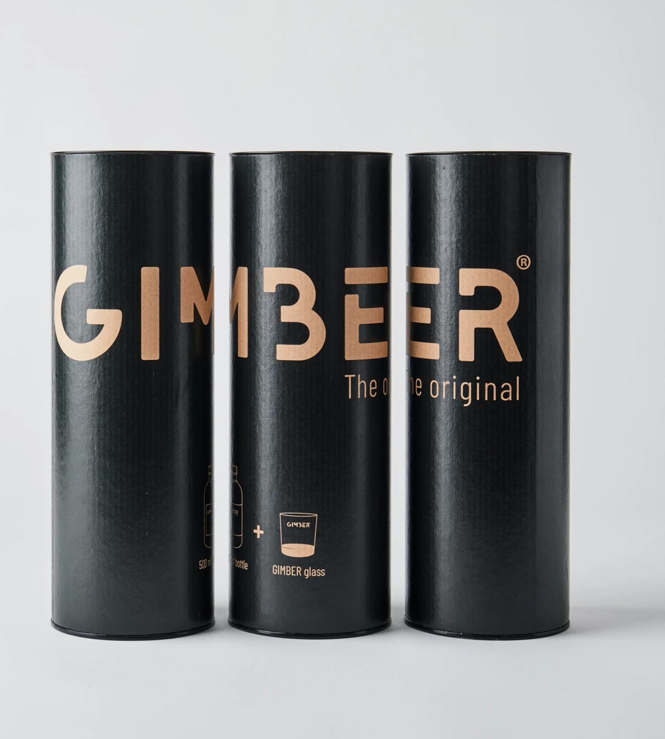 Gimber 500ml - Koker met glas-2